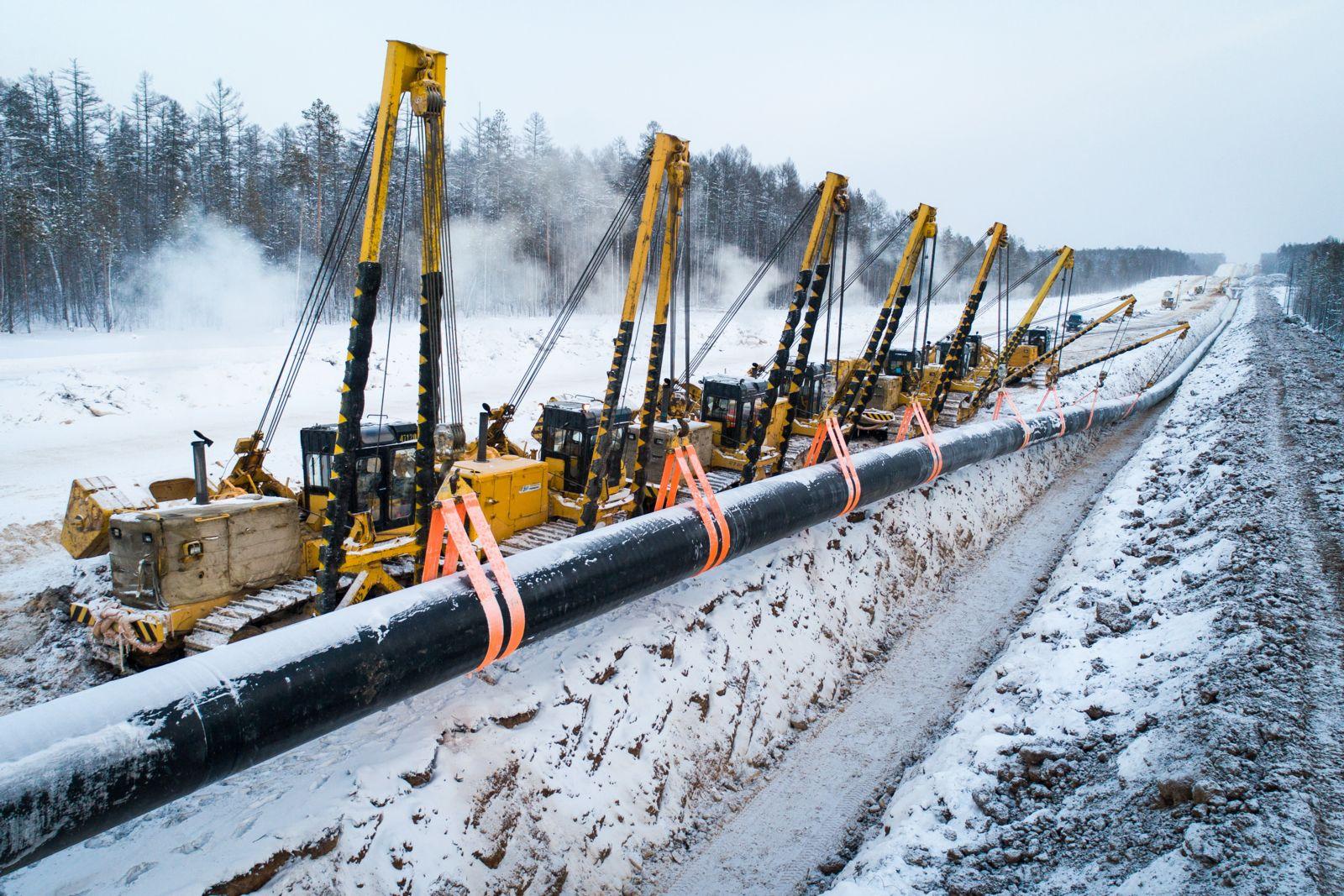 картинки при строительстве газопровода достаточно компактном